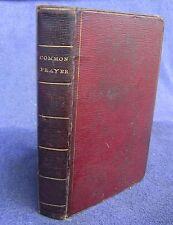 200 yr old BOOK OF COMMON PRAYER Oxford 1815 + 1812 London Psalms of David