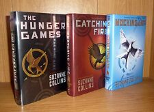 THE HUNGER GAMES by Suzanne Collins SCARCE TRU US HB 1st! UNREAD ! Basis of Film