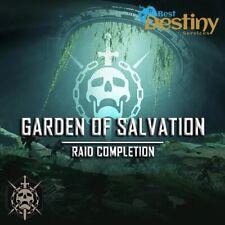 Destiny 2 Garden Of Salvation FULL Raid Completion [PS4]
