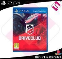 DRIVECLUB JUEGO PS4 FÍSICO NUEVO PRECINTADO PLAYSTATION 4 CARRERAS DE COCHES