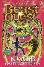 NEW BEAST QUEST (25) KRABB   Master of the sea & COLLECTOR CARDS