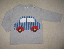 BABY BODEN Camiseta Top 0-3 AÑOS Applique & estampado 12 modelos de manga larga