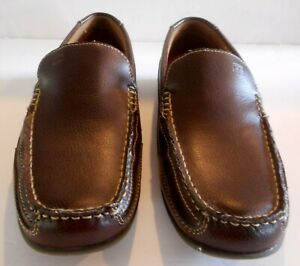 Tommy Hilfiger DATHAN Driving Moccasin Loafer Brown Men Size 9 Casual