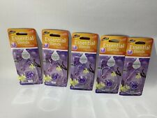 Lot 5 ARMORALL® ESSENTIAL BLENDS HANGING DIFFUSER AIR FRESHENER Vanilla Lavender