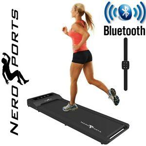 BLUETOOTH NERO WALK PAD TREADMILL Electric Motorised Running Machine Under Desk