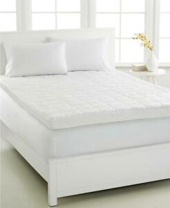 Martha Stewart Queen 4'' Memory Foam Mattress Toppers, Ventilated Foam