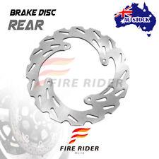 AU Rear MX Brake Disc Rotor For HONDA CRF450 R 04-16 05 06 07 08 09 10 11