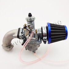 Mikuni 26mm Carburetor Carb Air Filter Intake Pipe Pit Dirt Bike 110 125cc 140cc
