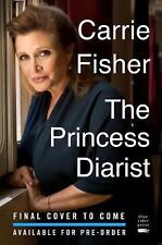 The Princess Diarist by Carrie Fisher Hardcover Book (English)