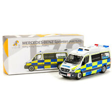 TINY HONG KONG 172 BENZ SPRINTERFACELIFT POLICE DIECAST CAR MODEL 137303