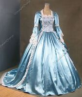 Renaissance Princess Cinderella Evening Ball Gown Theatrical Cosplay Dress 150