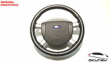 FORD MONDEO LEATHER STEERING WHEEL WITH AIRBAG 1s71-3599-c 1s71-f042b85-ccw
