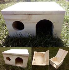 Kleintierhaus für Nager Hase Hamster Schildkröte Igel Meerschweinchen , Fichte