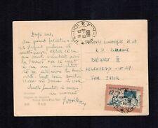 Postcard 1960 Vietnam National Education Mi 141 Circulated