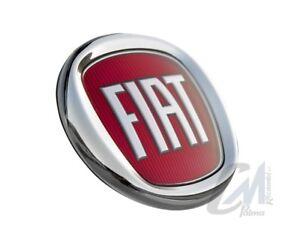 Logo Orrnement Fiat Arrière Grande Punto / Panda à Partir De 2007 Diamètre Ø85mm