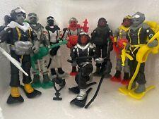 Gi joe black major custom Snow Serpent Lot 8 All Complete