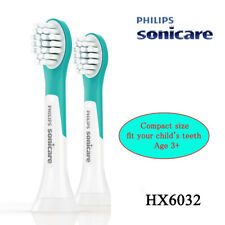 2pcs Philips Sonicare For Kids Compact sonic toothbrush heads HX6032 w/o box