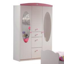 Kleiderschrank Blümchen B 136 cm Kinder Jugendzimmer Wäsche Mädchen Drehtüren