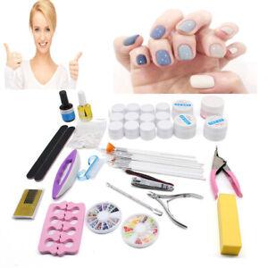 UV Gel French Nail Art Maniküre Nail Tips Extending Poly Build Gel Set Nagel Art