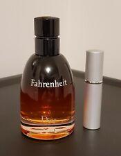 Dior Fahrenheit Parfum EDP 5ml Decant