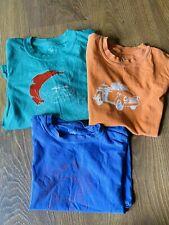 Shrimp & Grits Boys Tshirts Set Small size 5-6 Christmas Pumpkin Beach Santa tee