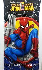 Spiderman Marvel 100% cotton beach towel 71cm x 147cm 032281611125
