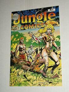 Blackthorne Publishing JUNGLE COMICS #2 September 1988