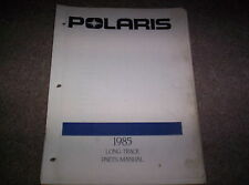 Vintage Snowmobile Polaris 1985 Long Track Parts Manual Not A Copy