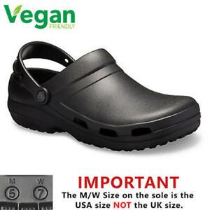 Crocs Specialist Vent II Mens Womens Medical Work Chef Vegan Clogs Shoes