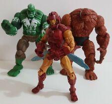 """Marvel Legends 6"""" - House of M - Hulk - Thing & Iron Man - 2006 - Toybiz"""