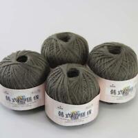 AIP Thread No.8 Cotton Crochet Yarn Craft Tatting Hand Knit Embroidery 50gX4 #10