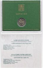 2018 Vaticano 2 Euro Commemorativo Anno Europeo Patrimonio Culturale FDC UNC