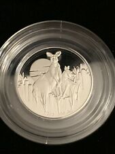 2020 Australia Kangaroos At Dawn Fine Silver Proof Coin - 1/2 Oz - 2500 Mintage