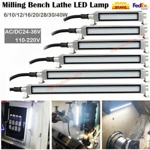 CNC Machine LED Light Industrial Workshop Lamp Lighting 6/10/12/16/20/28/30/40W