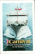 Carnival Cruises DECK of CARDS New in Box