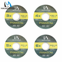 Maxcatch Nylon Fly Fishing Tippet Material Fly Fishing Line 50M 0/1/2/3//5/6/7X