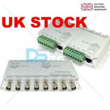 8Ch Passive Video Balun BNC Cable Transceiver to UTP Cat5 for cctv Camera System