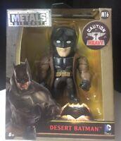 """JADA METALS DC COMICS DIE CAST 4"""" BATMAN V SUPERMAN DESERT BATMAN"""