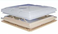 MPK Complete Rooflight with Flyscreen and Blind 40 x 40 Beige Caravan Motorhome