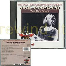"""JOE COCKER """"THE RAW VOICE"""" RARE CD 1993 ITALY"""