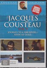 JACQUES COUSTEAU - VOL. 9 - JOURNEY TO A 1000 RIVERS / RIVER OF GOLD - DVD