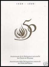 1998 Diritti dell'uomo - Italia+ONU Ginevra - folder