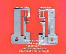 Stichplatte Overlock-Nähmaschine geeignet für Brother 929 1034D 1334D     # 2750