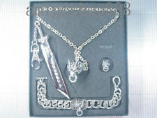 Final Fantasy VII 7 FF7 Cloudy Wolf Keychain Bracelet Earring Ring Necklace PG