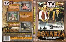 Bonanza-Vol 4-1959-1973-TV Series USA-3 Episodes-DVD