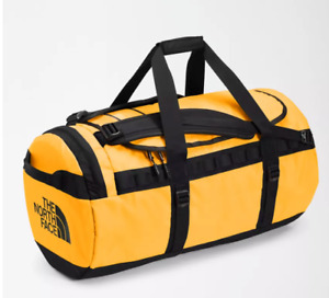 THE NORTH FACE BASE CAMP DUFFEL BAG SIZE M SUMMIT GOLD / TNF BLACK