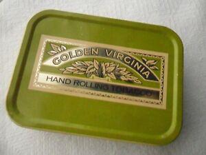 Vintage 2oz. Golden Virginia Tobacco Tin
