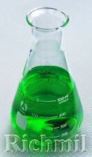 500ml Borosilicate Glass Lab Conical Flask Container UK