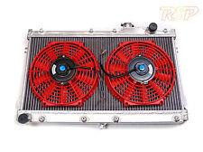Universal Kit Track V6 V8 4x4 Car Alloy Radiator & Fans Core Size 640x345x52mm