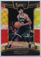 Jarrett Allen Tri-Color Prizm #18 Card 2018-19 Select Basketball Brooklyn Nets